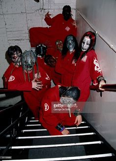 Photo of SLIPKNOT (Photo by George De Sota (ID 5073478)/Redferns)
