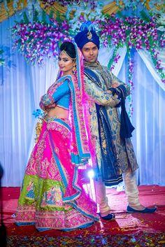 """Photo from Ammy Photography """"Smriti +Nishant"""" album Indian Bride Photography Poses, Wedding Couple Poses Photography, Bridal Photography, Indian Bridal Photos, Indian Wedding Poses, Couple Wedding Dress, Wedding Couple Photos, Bridal Photoshoot, Album"""