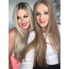 Throwback pic of me and @_sallyjo_! currently editing a collab grwm video we filmed last time Sally came to my house #shaaanxo #gorgeousprawn