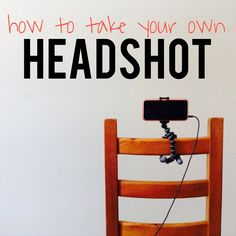 How to Take Your Own Headshot (with an iPhone!)
