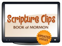 Scripture Clips DVD for Book of Mormon | Scripture Clips DVDs