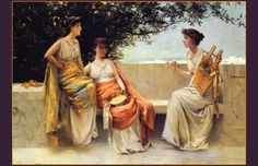 Sappho (ca. 620-570 BCE), the world's first great love poet.