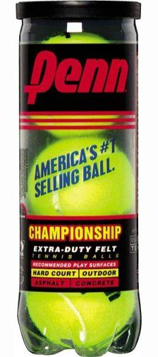 Penn Championship XD Tennis Balls (Single Can/3 Balls) « Store Break