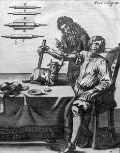 1668 en Allemagne. Première transfusion de sang d'une brebis à un patient sur @BIUSante  _____ http://www2.biusante.parisdescartes.fr/img/?refphot=01648&mod=s…