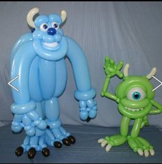 Monsters Inc. Twist Balloon