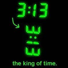 I like 3:00 (pm)