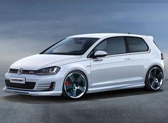 German tuner Oettinger has just announced the first details about their upcoming tuning program for the seventh generation of Volkswagen Golf GTI. Volkswagen Golf Mk1, Vw Motorsport, Carros Vw, Gti Mk7, Convertible, Vw Cars, Transporter, Performance Cars, Diesel