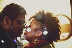 Regis + Kahran in all their #blacklove and #naturalhair glory www.andrewthomasclifton.com