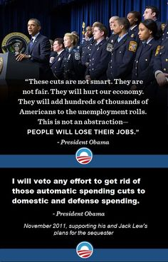 The sequester isn't even a real cut, it's just a reduction of automatic budget increases.