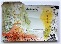 Susanne Rose - Papierkleckse: Index card a day