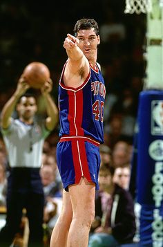 Bad Boy Bill Laimbeer. Over 10,000 career rebounds and he couldn't jump over a piece of paper.