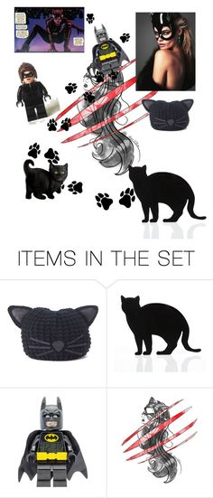 """""""Catwoman at romance again"""" by gaming97 ❤ liked on Polyvore featuring art"""