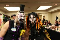 Lillabe the Clown and Nibbles the Clown