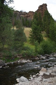 Gunbarrel Creek at Absaroka Mountain Lodge in Cody, Wyoming