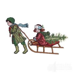 Children with Tree