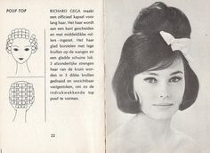 1963 coiffure ~ hair was often painstakingly sculptured in those days (rollers, setting gel, teasing, and lots of hairspray)