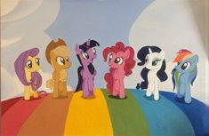 My Little Pony, Family Guy, Fine Art, Artwork, Fictional Characters, Collection, Work Of Art, Mlp, Visual Arts