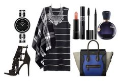 """Untitled #1193"" by fabianarveloc on Polyvore featuring Topshop, Lipsy, Fendi, Lucky Brand, MAC Cosmetics, Christian Dior, Kevyn Aucoin and Lacoste"