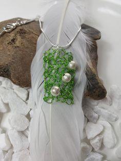 Weiteres - Versilberte Halskette mit selbstgemachten Anhänger - ein Designerstück von uwe-hess bei DaWanda