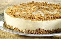 Speculaastaart (Dutch speculaas cake). Recipe in Dutch from Colruyt Culinair.
