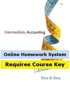 CengageNOW Online Homework System to Accompany Stice/Stice's Intermediate Accounting, 19th Edition, [Web Access], 2 terms (12 months)  http://www.bestcheapsoftware.com/cengagenow-online-homework-system-to-accompany-sticestices-intermediate-accounting-19th-edition-web-access-2-terms-12-months/
