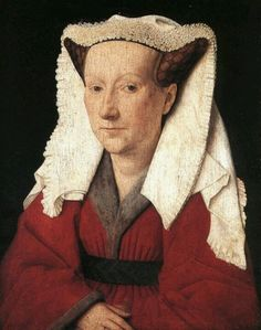 Jan van Eyck. Portrait of Margareta van Eyck