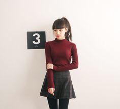 Like that! Korean fashion #skirt