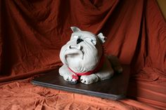 Bowie Bulldawg Sculpture