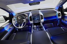 The inside of a 2015 Ford F150 Atlas...gotta love!