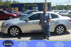 https://flic.kr/p/K7z3RQ | Congratulations Sergio on your #Honda #Accord Sdn from Lee Martinez at My Car Store Buy Here Pay Here! | deliverymaxx.com/DealerReviews.aspx?DealerCode=YOGM