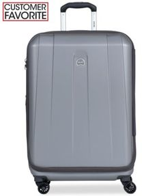 """Delsey Helium Shadow 3.0 25"""" Expandable Hardside Spinner Suitcase, In Blue, a Macy's Exclusive Color"""