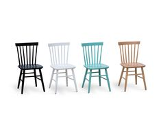 Mobirom:Colored Windsor Chair Wooden chairs and tables factory. Chairs made in Europe Bedroom Furniture Sets, Home Furniture, Bedroom Sets, Furniture Design, Dining Chairs, Wooden Chairs, Club Chairs, Primitive Dining Rooms, Country Furniture