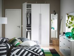 IKEA offers everything from living room furniture to mattresses and bedroom furniture so that you can design your life at home. Check out our furniture and home furnishings! Small Bedroom Wardrobe, Pax Wardrobe, Ikea Bedroom, Bedroom Storage, Bedroom Furniture, Bedroom Chest, Bedroom Inspo, Wardrobe Ideas, Bedroom Inspiration