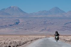 Alain Denis rode his motorcycle nearly 100,000km from Canada to South America