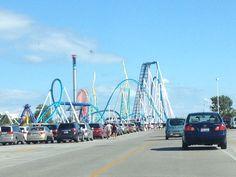 Cedar Point in Sandusky, OH