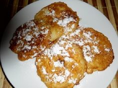 Jablkové kroužky se skořicí Czech Recipes, Food To Make, French Toast, Menu, Sweets, Bread, Apple, Homemade, Cookies