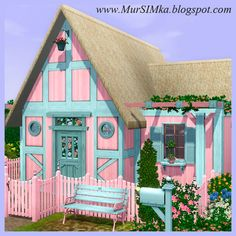 Starter House Belinda at MurSIMka - Sims 3 Finds