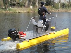 Another pic of Rowing Solution's catamaran