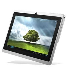 """Chromo Inc® White 4gb 7"""" Android 4.0 Touch Capacitive Screen 1.2ghz 512 RAM Tablet Pc Wifi 3g Camera Tr-a13: $69.99"""