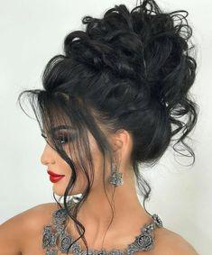 44 Easy Formal Hairstyles For Long Hair - Hair ispiration - Frisuren Formal Hairstyles For Long Hair, Up Hairstyles, Pretty Hairstyles, Wedding Hairstyles, Hairstyle Hacks, Hair Styles For Formal, Hairstyle For Long Hair, Formal Updo, Fashion Hairstyles