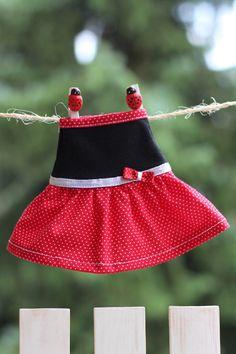 12 inch Handmade My Fashion Doll Sleeveless Doll by RibizliDesign