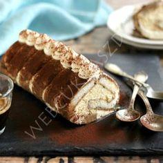 Kókuszos tejbegríz torta Biscuits, Waffle Cake, Eclairs, Mini Desserts, Hot Dog Buns, Banana Bread, Cake Recipes, Food And Drink, Muffins