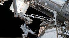 NASA Astronauts on Third and Final Spacewalk in October Series Follow @GalaxyCase if you love Image of the day by NASA #imageoftheday