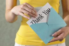 Top 10 Tips for Writing and Sending Thank You Letters