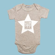 'Daddy's Little Man' Father's Day Vest