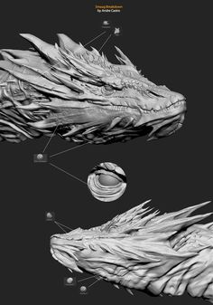 Making of Smaug by André Castro (Synthesis) | Zbrush Tuts