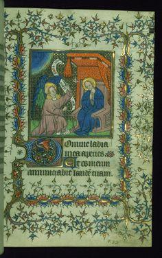Hodinky Walters MS W. 99; SZ Francie 1400-1425; f.19r