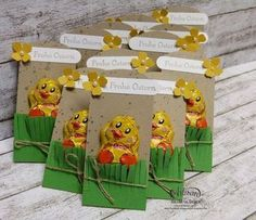 Little Oster Goodies (Barbaras Creative Studio)- kleine Oster-Goodies (Barbaras Kreativ-Studio) little Easter goodies Valentines Day Gifts For Him, Valentine Day Crafts, Easter Crafts, Diy Gifts For Kids, Crafts For Kids, Diy And Crafts, Creative Studio, Valentine History, Easter Traditions