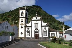 Igreja de Nossa Senhora da Graça (Faial da Terra) another church in the Azorean town my family is from! Portugal, Hydrangea Bloom, Lighthouse Keeper, Portuguese, Places To See, Vacation, Mansions, House Styles, World