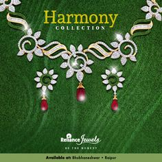 #EastCollection Handpicked designs for the select few Presenting  Harmony Collection How about falling in love with a very special person in your life. You! Presenting 'Harmony', a magnificent range of stunning Diamond Jewellery enthused by the ever-inspiring 'Garden of Versailles'. Inherit elegance in the most stylish way with designs that will leave you with awe.  Be the best version of you, everyday. Be the moment. www.reliancejewels.com Reliance Jewels Be The Moment #Reliance #Relia